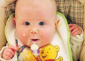 تغذیه مناسب در 6 ماهه دوم زندگی