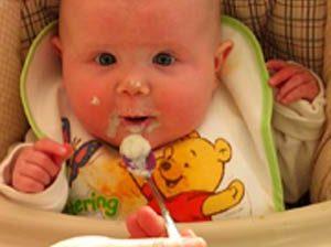 نکاتی درباره غذای نوزادان