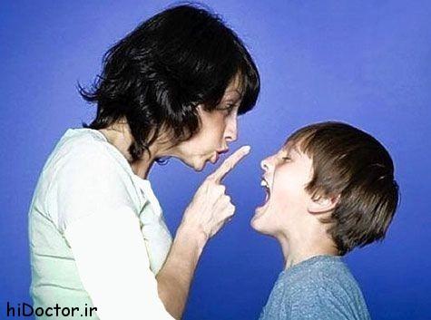 بی احترامی فرزندان
