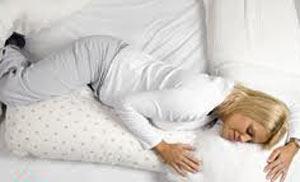 راحت شدن و راحت ماندن در تختخواب در طول حاملگی
