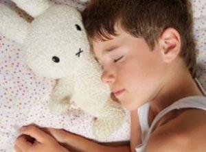 وقتی فرزندم موقع میان وعده خواب است