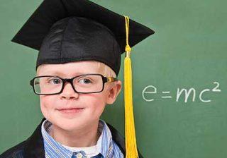 ده نشانه کودکان با استعداد و نابغه