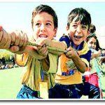 افزایش تحرک کودکان با اسباب بازی