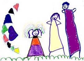 تحليل روانشناختی نقاشی کودکان